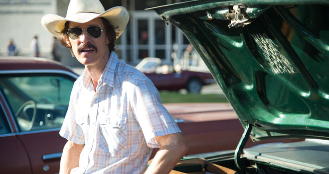 Matthew McConaughey in 'Dallas Buyers Club'