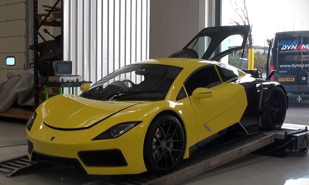 【ビデオ】英のスーパーカーメーカー、Arashの工場と「AF8」のダイノテストを見学!