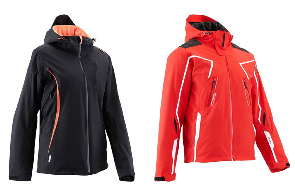 His And Hers Wed Ze Procarve Ski Jackets Courtesy Of Decathlon