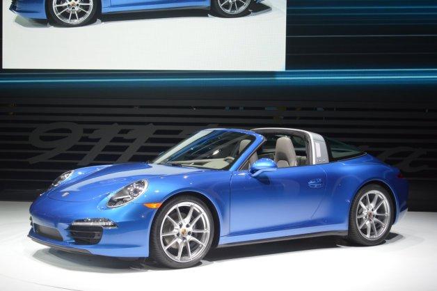 【デトロイトショー2014】新型ポルシェ「911タルガ」がワールドプレミア!