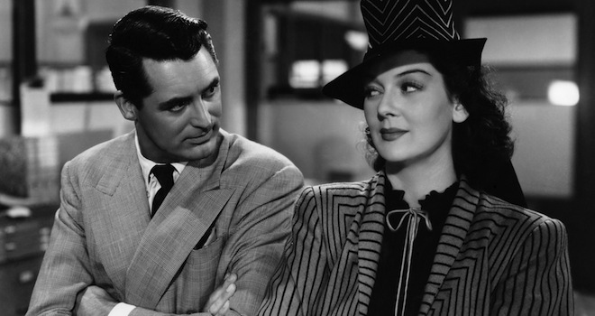 Cary Grant, Rosalind Russell,