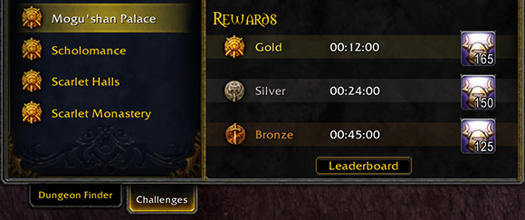 Challenge Mode Valor Points