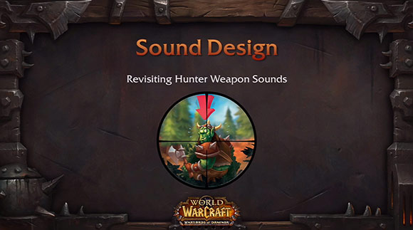 New hunter weapon sounds