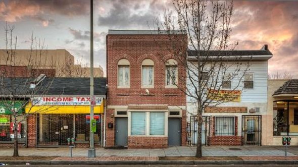 crowdfunded property 1539 7th St. Washington, D.C.,