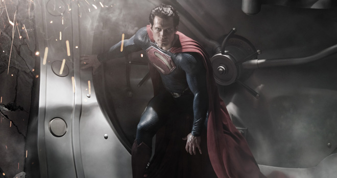 Henry Cavill in 'Man of Steel'