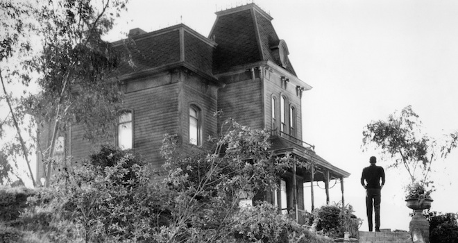 'Psycho,' Alfred Hitchcock, Anthony Perkins, Psycho house