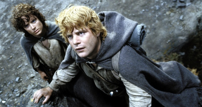 THE LORD OF THE RINGS: THE RETURN OF THE KING, Elijah Wood, Sean Astin