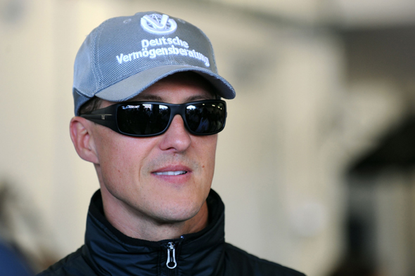 File photo dated 11/07/2010 of former racing driver Michael Schumacher.
