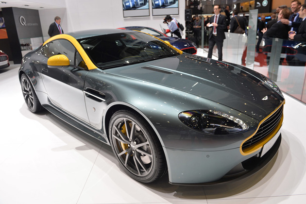 【ジュネーブ2014】アストンマーティン、レースの血統を感じさせる「V8 ヴァンテージ N430」を公開