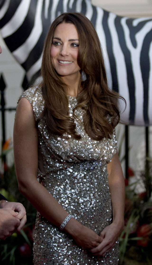 kate middleton: a year in pictures