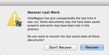 FotoMagico Recover Screen Shot