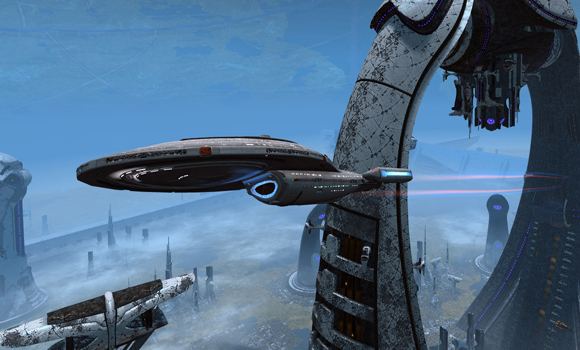 STO Intrepid Class at Dyson Spire