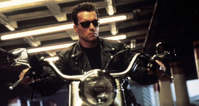 Arnold Schwarzenegger in 'Terminator 2'