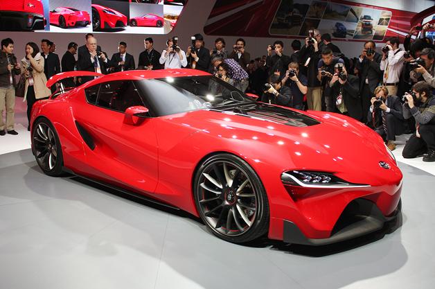 【デトロイトショー2014】トヨタがスポーツカーのコンセプト「FT-1」を初公開!(ビデオ付)
