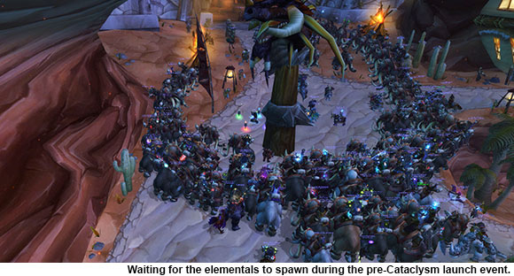 Cataclysm Launch Event