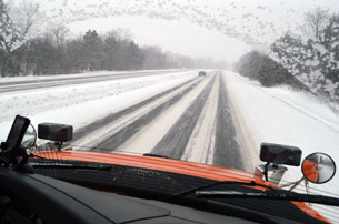 Driven To Work - Snowplow Driver