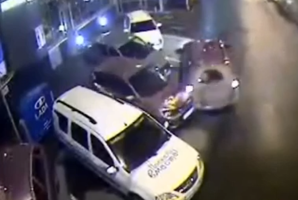 Russian crash driver