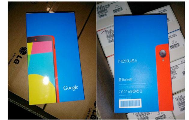 紅色 Nexus 5 快要來了?