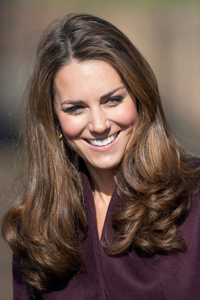 NEWCASTLE, UNITED KINGDOM - JANUARY 13:  Catherine, Duchess of Cambridge visits a community garden project at Elswick Park on October 10, 2012 in Newcastle upon Tyne, England.  (Photo by Mark Cuthbert/UK Press via Getty Images)