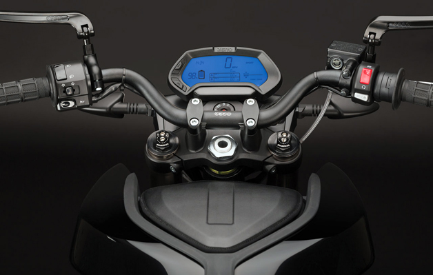 Zero Motorcycles instrument cluster dash