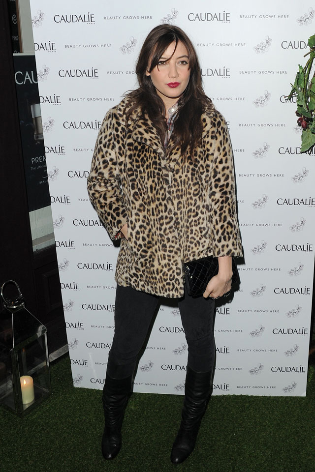 Caudalie - VIP launch party - Arrivals  Celebrities attend as French beauty brand hosts exclusive launch of its first London spa.  Featuring: Daisy Lowe Where: London, United Kingdom When: 10 Feb 2014 Credit: WENN.com