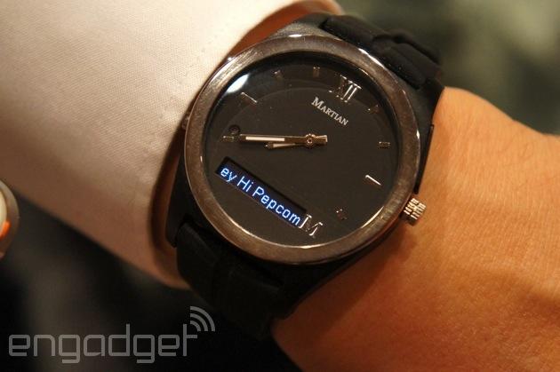 Martian Notifier 手錶主站動手玩,能透過不同的震動方式告知用戶通知來自哪個應用