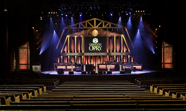Grand Ole Opry House celebrates its 40th anniversary this weekend.