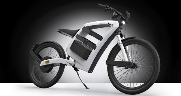 【ビデオ】バッテリーが2個付いて、取り外しも可能な電動バイク「Feddz」
