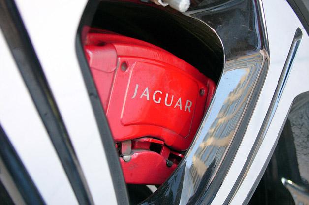 2013 Jaguar XFR-S brakes