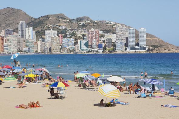 benidorm most popular destination for brits