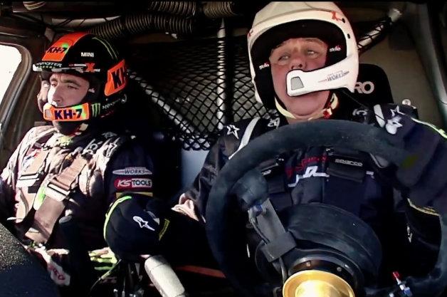 【ビデオ】レノが今年のダカール優勝者とMINI「オール4レーシング」を駆る!