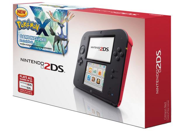 Nintendo 2DS with Pokemon X