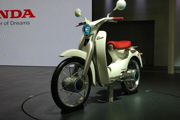 【東京モーターショー】ホンダのEV-Cubコンセプト、一刻も早い発売を望む!