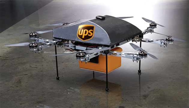 Image result for ups drones