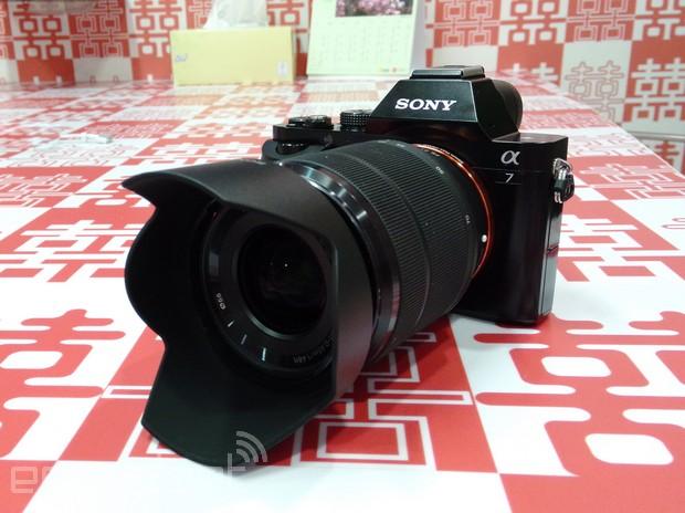 Sony Alpha 7 / A7 評測:最輕巧的全片幅 ILC 無反