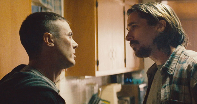 Casey Affleck and Christian Bale in 'Out of the Furnace'