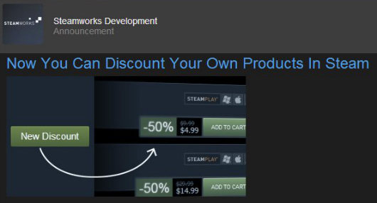 Hide Your Wallet Steam Developers Can Set Up Their Own Sales