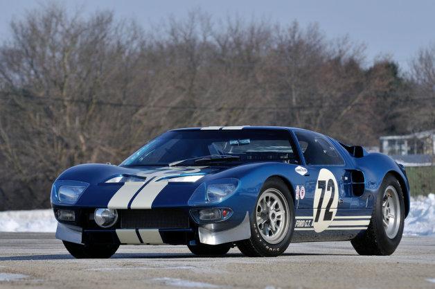 いったいいくらの値が付くのか? 1964年式フォード「GT40」プロタイプが競売へ