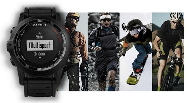 Garmin 推出 Fenix 2 GPS 手錶,除了可以追蹤運動表現之外還可跟手機連線