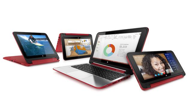 HP 推出 Pavilion X360 翻转式笔记本,类似 Yoga 设计的平价 11 吋产品