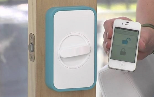 lockitron remote electronic doorlock