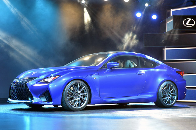 北米国際自動車ショー2014】レクサスの新型高性能クーペ「RC F」がワールドプレミア!