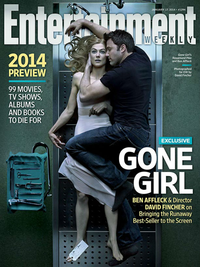 entertainment weekly gone girl cover