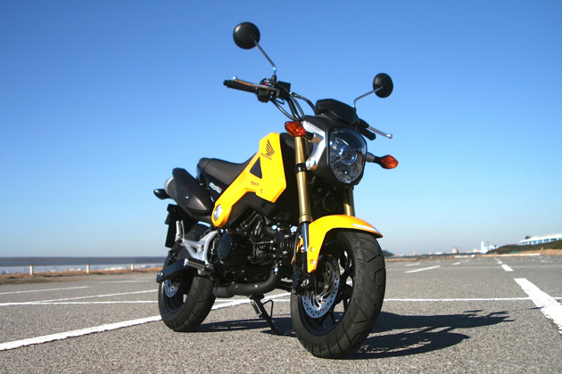 【試乗記】ホンダの人気原二バイク「GROM(グロム)」に乗る!