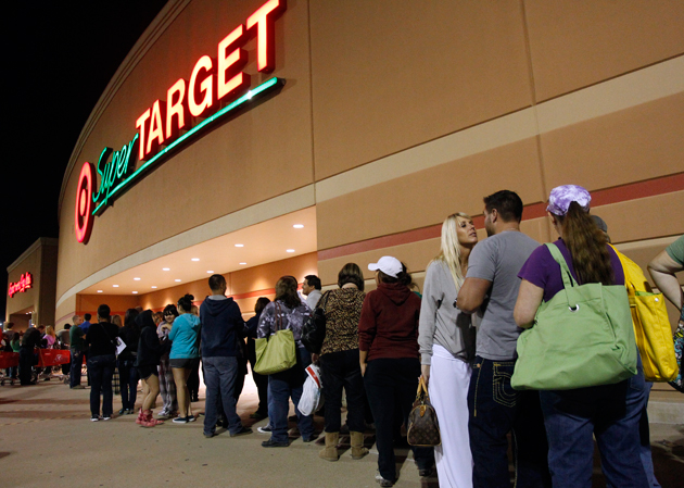 Super target retailer lineup about Black Friday 2013
