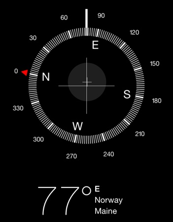 how does iphone compass work how to use the ios compass for basic land navigation 17028