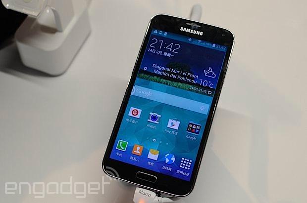 Samsung Galaxy S5 动手玩,功能较上代踏实(视频)