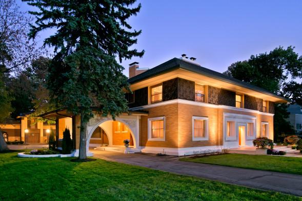 Frank Lloyd Wright's Winslow house