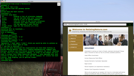 hack run screenshot