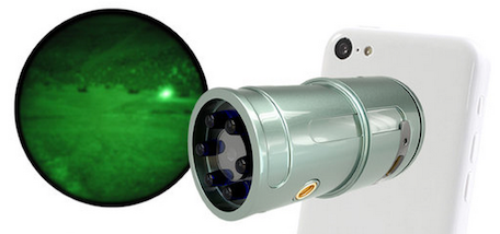 snooperscope, night vision, iphone, iphone case